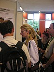 Poster session in the Round hall